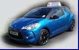 Learn to drive in a Citreon DS3 like this
